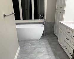 Bathroom remodel by Traditional Floors & Design Center in Saint Cloud