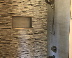 Bathroom Project completed by Traditional Floors & Design Center