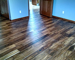 Den Project completed by Traditional Floors & Design Center