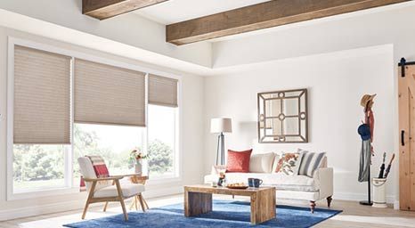 Graber shades blend form and function to deliver superior benefits and a variety of solutions for every home. Visit our showroom to see all the possibilities.